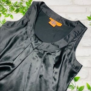 Tory Burch 100% silk sleeveless top